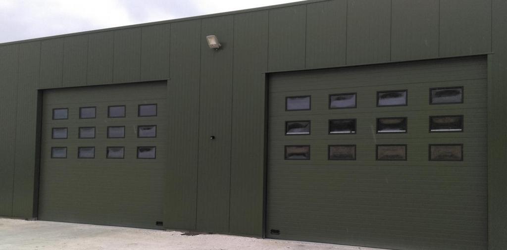 Améliorez votre bâtiment industriel ou commercial avec une porte métallique
