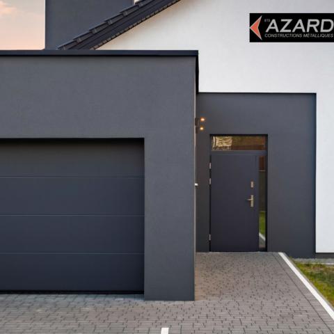 Avantages des portes de garages en métal pour votre bâtiment résidentiel ou commercial