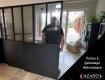 Les portes coulissantes ajoutent style et fonctionnalité à votre lieu de travail